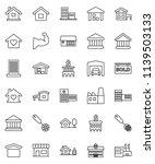 thin line vector icon set  ... | Shutterstock .eps vector #1139503133