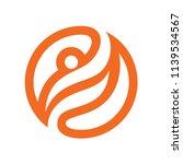 fun people healthy life logo...   Shutterstock .eps vector #1139534567