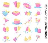 vector illustration of... | Shutterstock .eps vector #113991913