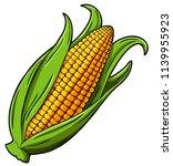 vector cartoon golden corn   Shutterstock .eps vector #1139955923