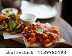 delicious and colorful... | Shutterstock . vector #1139980193