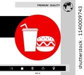 hamburger or cheeseburger ...   Shutterstock .eps vector #1140009743