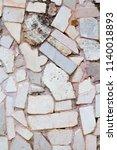 texture of natural cut stone | Shutterstock . vector #1140018893