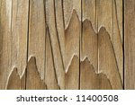 Wood Mountains - stock photo