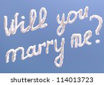 Will You Marry Me Text In Sky ...