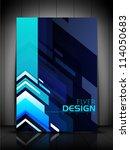 professional business flyer... | Shutterstock .eps vector #114050683