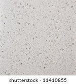 Synthetic quartz stone (Silestone) texture, Mont Blanc tone - stock photo