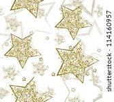 stars seamless | Shutterstock .eps vector #114160957