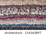 pile of carpets of different...   Shutterstock . vector #114163897