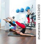 Aerobics Pilates Women With...