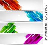 abstract banner | Shutterstock .eps vector #114214477