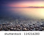 Nature Composition Of Sunset