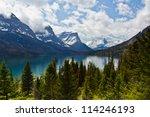 St Mary Lake In Glacier...