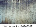 Blank Rusty Metal Wall