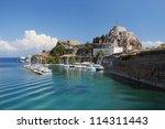 The Greek Island Of Corfu