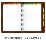illustration of a leather... | Shutterstock .eps vector #114339613