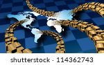 international package delivery... | Shutterstock . vector #114362743