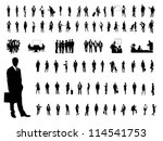business people | Shutterstock .eps vector #114541753