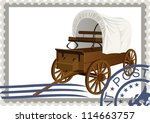 the illustration on a postage... | Shutterstock .eps vector #114663757