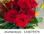 Beauty Red Roses - stock photo
