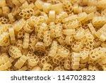 photo of figured macaroni | Shutterstock . vector #114702823