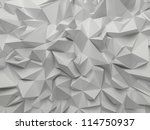 Abstract White Crystallized...