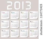 Simple 2013 Calendar   2013...
