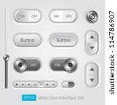 vector user interface... | Shutterstock .eps vector #114786907