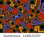 a hand drawing pattern made of...   Shutterstock . vector #1148121557