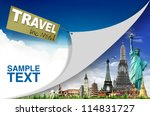 travel the world concept | Shutterstock . vector #114831727