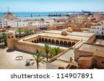 Great Mosque in Sousse - stock photo