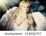 Beautiful Little Angel Girl...