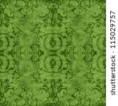 Vintage Green Tapestry