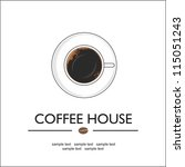 coffee house | Shutterstock .eps vector #115051243