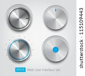 control knobs set  ui series