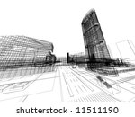abstract architecture | Shutterstock . vector #11511190