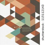 abstract  background   retro... | Shutterstock .eps vector #115112143