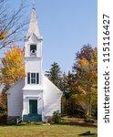 Classic White New England...