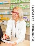 pharmacist | Shutterstock . vector #115192957