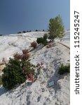 pamukkale   terraces of...   Shutterstock . vector #115245247