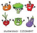 illustration of various... | Shutterstock .eps vector #115266847