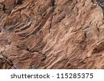 closeup of a brown stone texture background - stock photo