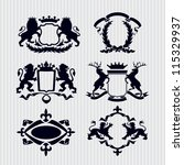 Vector Heraldic Royal Crests...
