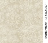 Seamless Winter Pattern On...