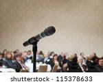 indoor business conference for... | Shutterstock . vector #115378633