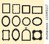 vector frame | Shutterstock .eps vector #115393117