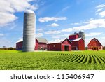 American Countryside Red Farm...