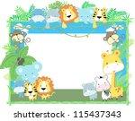 Cute Jungle Baby Animals Jungl...