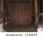wood barn doors | Shutterstock . vector #1154679