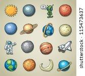 Freehand Icons   Planetarium